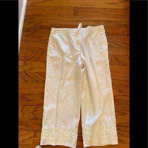 Talbots Cropped pants 8 Size 8P